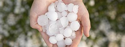 The effect of hail on bitumous membranes