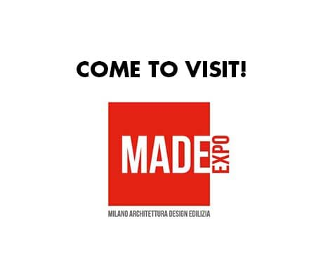 MADE EXPO Fair Milano Rho 22-25 november 2021: come to visit