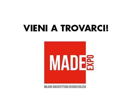 MADE EXPO Fiera Milano Rho 22-25 novembre 2021: vieni a trovarci